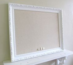 framed magnet board shabby chic wedding sign nursery wall decor french country picture frame photo prop