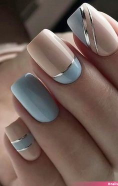 Chic Nails, Stylish Nails, Trendy Nails, Swag Nails, Manicure Nail Designs, Nail Manicure, Manicure Ideas, Nail Ideas, Nagellack Design