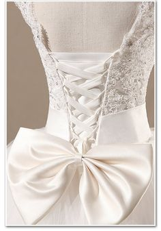 cheap wedding dresses Ball Gown Lace Bowknot by Charmbride on Etsy, $165.00