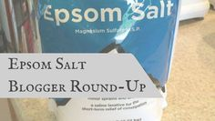 You are going to learn everything you ever wanted to know about it in the Epsom Salt Round-up | PreparednessMama