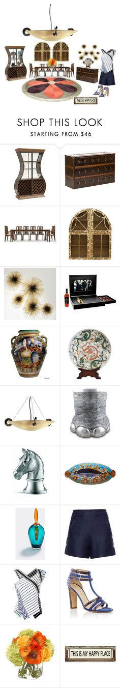 """Untitled #791"" by aifosbr ❤ liked on Polyvore featuring interior, interiors, interior design, home, home decor, interior decorating, Copeland Furniture, Jonathan Adler, The Macallan and Terzani"