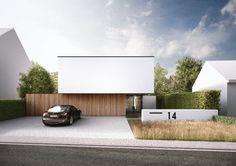 Moderne einfahrten einfamilienhaus  53 besten Einfahrt Bilder auf Pinterest | Moderne häuser, Einfahrt ...