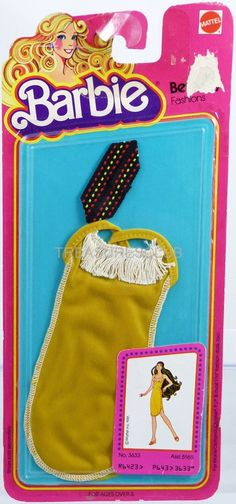 Barbie Doll Best Buy Fashions #3633 New Never Removed from Pack 1980 Mattel 3+   eBay