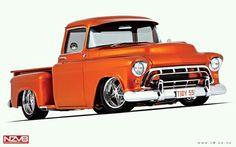 1955 Chevy Truck.....