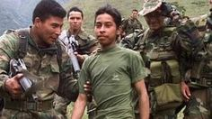 Colombia Farc rebels hand over child soldiers - BBC News