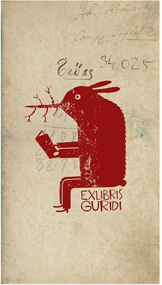 Ex libris by Spanish artist & illustrator Raul Nieto Guridi Ex Libris, Illustrations, Graphic Illustration, Graphic Art, Graphic Design, Art Graphique, Art Design, Zine, Printmaking