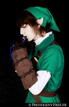 Link from The Legend of Zelda : Ocarina of Time by Les Tutos de Lau