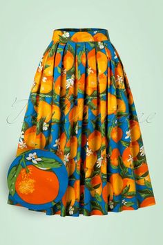 Dancing Days by Banned Laneway Orange Skirt 122 39 20925 20170201 0008W1