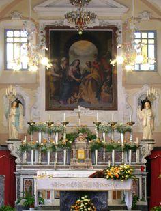 Pala d'altare di Fabrizio Santafede in S. Maria della Visitazione