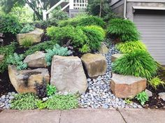 Stone Retaining Wall Sticks and Stones Landscaping - Portland