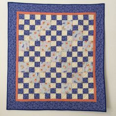 Handmade baby quilt Baby quilt pieced Baby boy by GotBabyGetQuilt