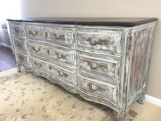 SOLD - Gorgeous French Provincial Dresser - Sideboard Buffet - Entertainment Center by madenewdesignct on Etsy https://www.etsy.com/listing/260008382/sold-gorgeous-french-provincial-dresser