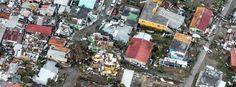 Zerstörungen von Hurrican Irma auf Karibikinseln..