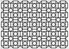 imaginesque.blogspot.co.uk, free blackwork patchwork fill-in pattern