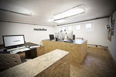 OSB OFFICE desk interior design