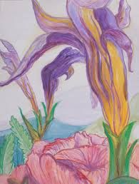 Image result for georgia o'keeffe iris paintings