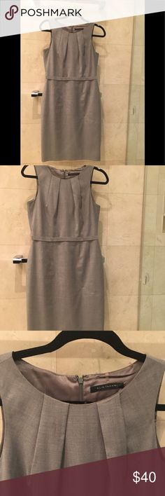 Elie tahari dress Grey elie tahari wool dress Elie Tahari Dresses Midi