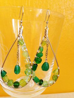 A personal favorite from my Etsy shop https://www.etsy.com/listing/234401436/dangle-earrings-holiday-gift