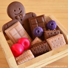 biscoitos e chocolate, natal sabonetes artesanais handmade soap