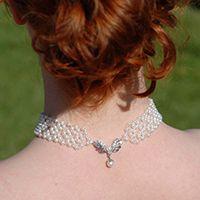 Angel's Wings #Bridal Choker #Tutorial #Weddings