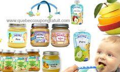 Coupons sur les produits #Heinz bébés à #Québec