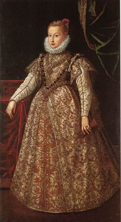 Anna Caterina Gonzaga (1566-1621). Daughter of William Gonzaga and Eleanor of Austria