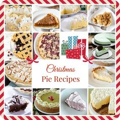 Tons of Delicious Christmas Pie Recipes