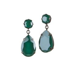 New crystal earrings from FROST collection by Anna Orska.