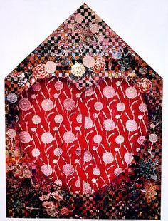 Miriam Schapiro Feminist Art, Canadian Artists, Painting Patterns, Installation Art, Paper Cutting, Christmas Wreaths, Weaving, Artisan, Sculpture