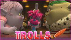 Trolls Movie Bridget King Gristle Fall In Love Kids Coloring Book