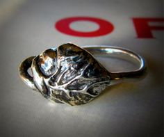 Valentines Day Anatomical Heart Ring Jewelry in Sterling Silver. $45.00, via Etsy. <3 This is pretty cool! the real human heart <3