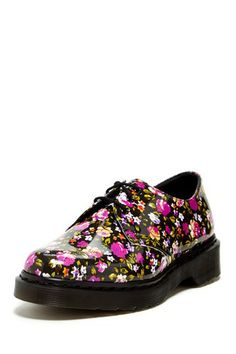 i don't know why I like them but i do - Dr. Martens 1461 Printed Patent Oxford by Non Specific on @HauteLook