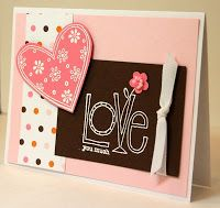 Krystal's Cards and More: Love You Much