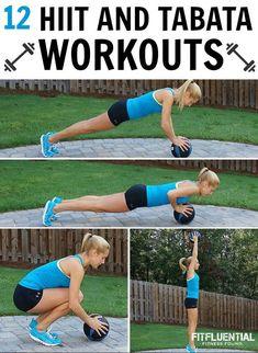 12 HIIT and TABATA workouts