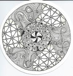 ❤~ Mandala para Colorear ~❤   #Zendala No. 4
