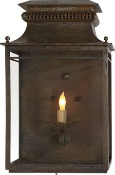 FLEA MARKET WALL LANTERN from Circa Lighting...love this one!