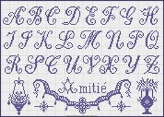 Free Easy Cross, Pattern Maker, PCStitch Charts + Free Historic Old Pattern Books: Fr - Alexandre