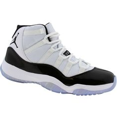 wholesale dealer 2a74d b18c7 Original Air Jordan 11 Retro XI Herren Eintracht weiß schwarz dunkel  Eintracht Concord Shoes, Air