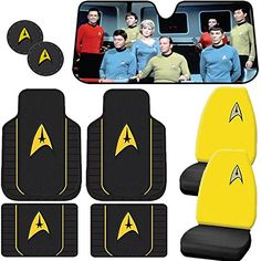9pc Star Trek Delta Front & Utility Floor Mats Seat Covers & Coasters Sun Shade U.A.A. INC. http://www.amazon.com/dp/B00ZYV9BIW/ref=cm_sw_r_pi_dp_GvgNvb0EGK9Q8