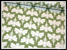 Stoff Tiermotive - Jersey Lila Lotta MARIBELL Dragonfly Sombra grün - ein Designerstück von Rotznasenmode bei DaWanda