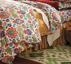 Cotton Percale Holland Duvet Cover