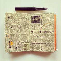 José Naranja. Moleskine notebook.