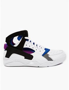 Men's White Air Flight Huarache PRM QS Sneakers