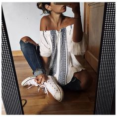 A number of the most popular boho outfit! I enjoy the flow and conceptual of a given hippies strength! Looks Street Style, Looks Style, Style Me, Fashion Killa, Look Fashion, Fashion Outfits, Womens Fashion, Fashion News, Look Hippie Chic