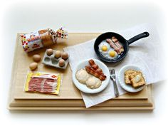 Eggs, bacon and toast breakfast ! by minivenger on DeviantArt