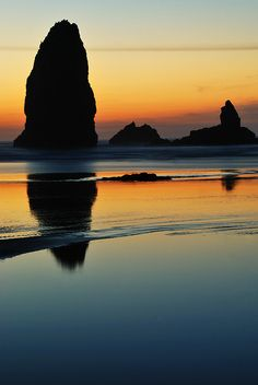 Check out this beautiful picture of #CannonBeach on the #OregonCoast! http://oregonbeachvacations.com/