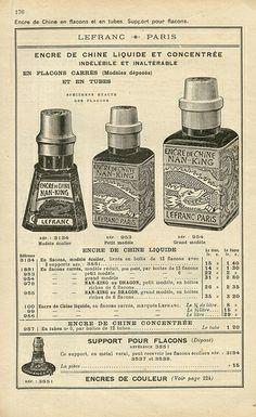 lefranc p82 - catalogue lefranc - 1924 - pillpat has many many pics of each page of this vintage catalog