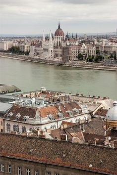 The Parliement on the Duna side Budapest, Hungary
