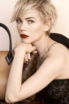 Undercut Pixie Michelle Williams