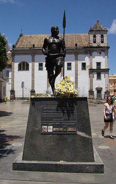 Estátua de Zumbi dos Palmares em Salvador, Brasil
